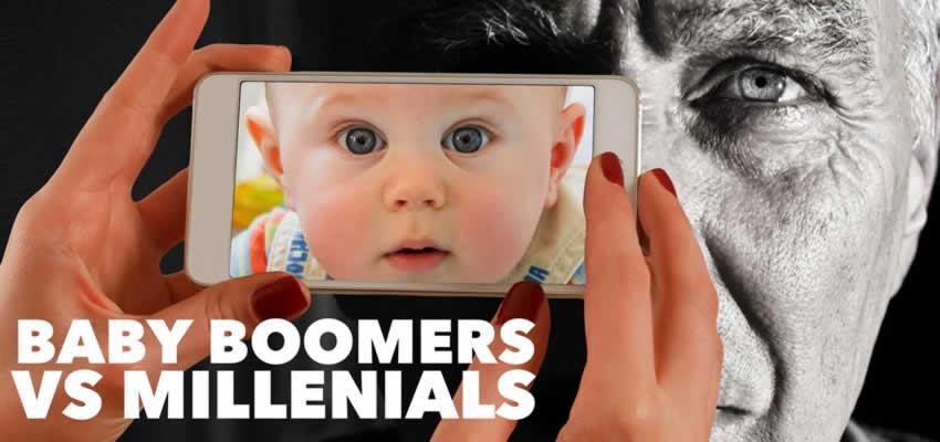 millennials versus baby boomers